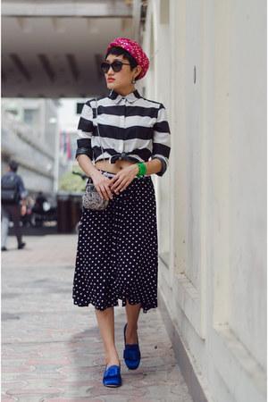blue aj store shoes - black Max Fashion shirt