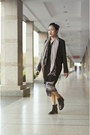 Black-cut-out-leather-dulla-shoes-boots-dark-gray-leather-river-island-jacket