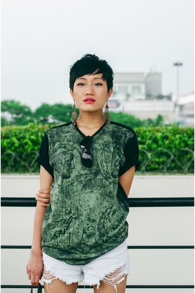 Forest-green-trendin-t-shirt