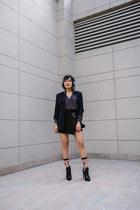 black stripes Forever21 blazer - black stripes Forever21 shirt