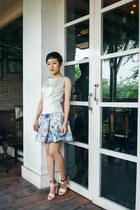 ivory Manika Nanda dress