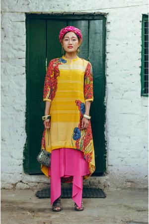silver aj store bag - yellow W For Woman dress