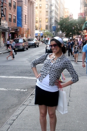 American Apparel skirt - Urban Outfitters top - banana republic sweater - bandan