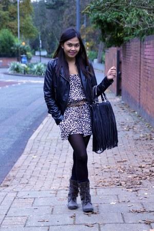 Dorothy Perkins jacket - H&M - Primark boots - H&M bag