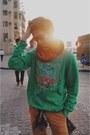 Green-kenzo-sweater