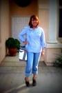 Loewe-bag-pants-peeptoe-charlotte-russe-clogs-blue-charlotte-russe-top