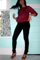H&M shirt - pants - Steve Madden shoes