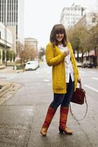 tawny blanket Shoedazzle boots - black toggle hooded Gap coat