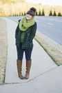 Green-cowl-neck-the-limited-sweater-brown-flat-tall-justfab-boots