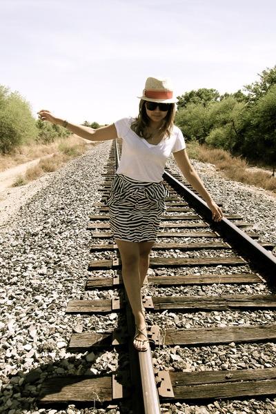 PacSun t-shirt - H&M skirt - TJ Maxx sandals - World Market necklace