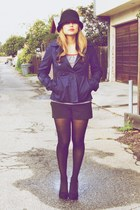 BB Dakota jacket - thrifted t-shirt - Forever 21 shorts - Ebay shoes - Forever 2