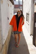 vintage cape - tres boutique blouse - pacific sunwear skirt