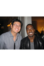 My Boss with Kanye West before the concert