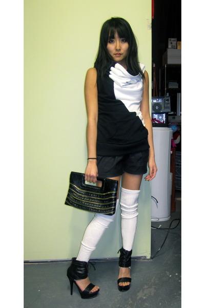 Anna Hovet shirt - Akira shorts - Akira purse - Steve Madden shoes