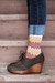 Black-cuffed-vintage-jeans-brown-patterned-vintage-socks