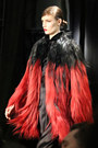 fur ombre Reem Acra coat