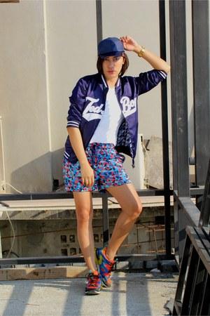 blue jersey shorts Penshoppe shorts