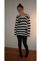 MinkPink sweater - American Apparel skirt - American Apparel leggings - Colonial