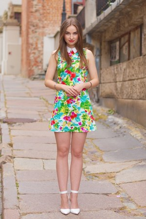 yellow River Island dress