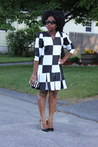 Self Made dress - Christian Louboutin heels
