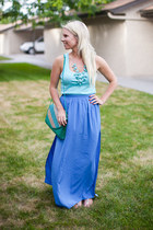 Forever21 purse - Topshop skirt - joe fresh style top