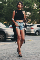black Choies top