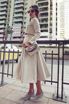 Chicwish skirt - milanoo bag - Ui Gafas sunglasses - Chicwish top