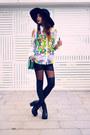 Zara-hat-zealotries-leggings-sheinside-blouse