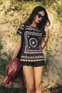 Sheinside-shorts-sheinside-blouse