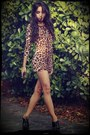 Brown-leopard-h-m-dress-black-oxfords-tabio-heels