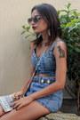 Blue-sheinside-shorts