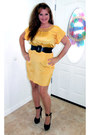 Yellow-silk-nordstrom-dress