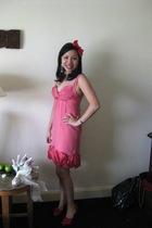 Truese dress - diva accessories - Vincci shoes - diva earrings
