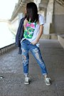 Forever-21-jeans-stussy-t-shirt