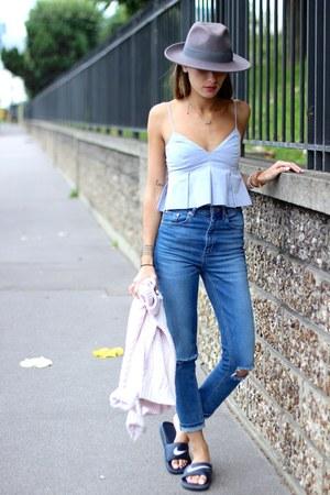 asos jeans - Zara top