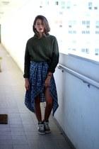 Zara sweater - nike sneakers