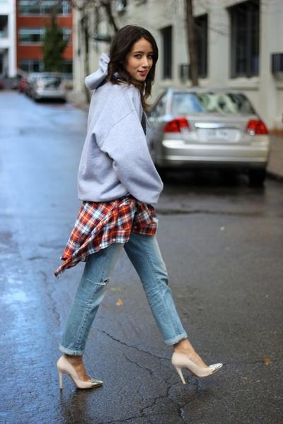 Levis jeans - Zara heels