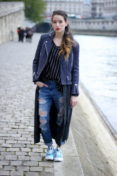 Forever 21 jeans - Puma sneakers