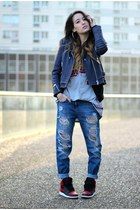 Forever 21 jeans - The Kooples jacket
