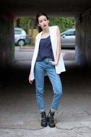 Mango vest - Pimkie jeans - Primark top