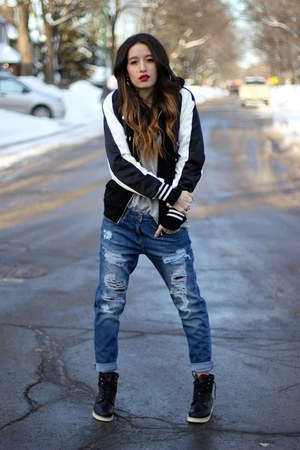 Forever 21 jacket - Forever 21 jeans