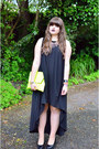 Black-flatform-vagabond-shoes-black-cos-dress-chartreuse-clutch-asoscom-bag