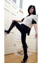 Leifsdottir jacket - J Aldridge boots - LAMB blouse - Macys