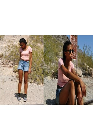 Levis shorts - Target sunglasses - Urban Outfitters top