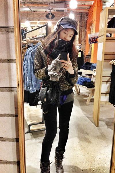 Primark jeans - H&M scarf - Primark jumper