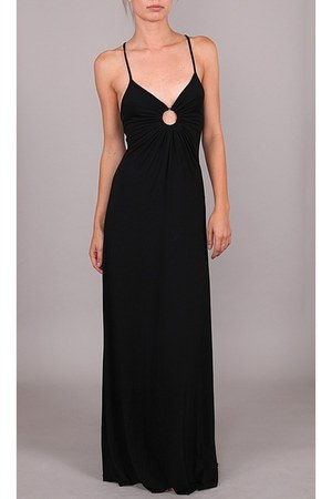 black Michelle Jonas dress