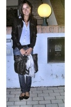 Gas jeans - Tally Weijl jacket - Blumarine accessories - shoes