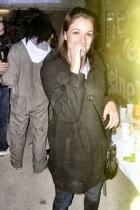 Tally Weijl coat - Tally Weijl shirt - Gas jeans - Tally Weijl accessories