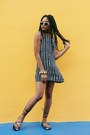 Black-striped-newdress-dress-ivory-urban-outfitters-sunglasses
