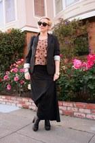 Jeffrey Campbell boots - Club Monaco blazer - Lily White skirt